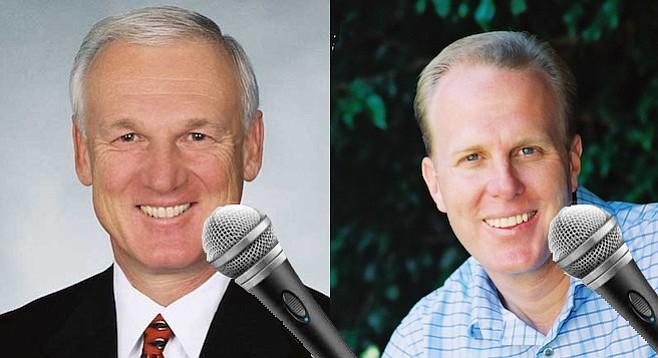 Ron Roberts and Kevin Faulconer