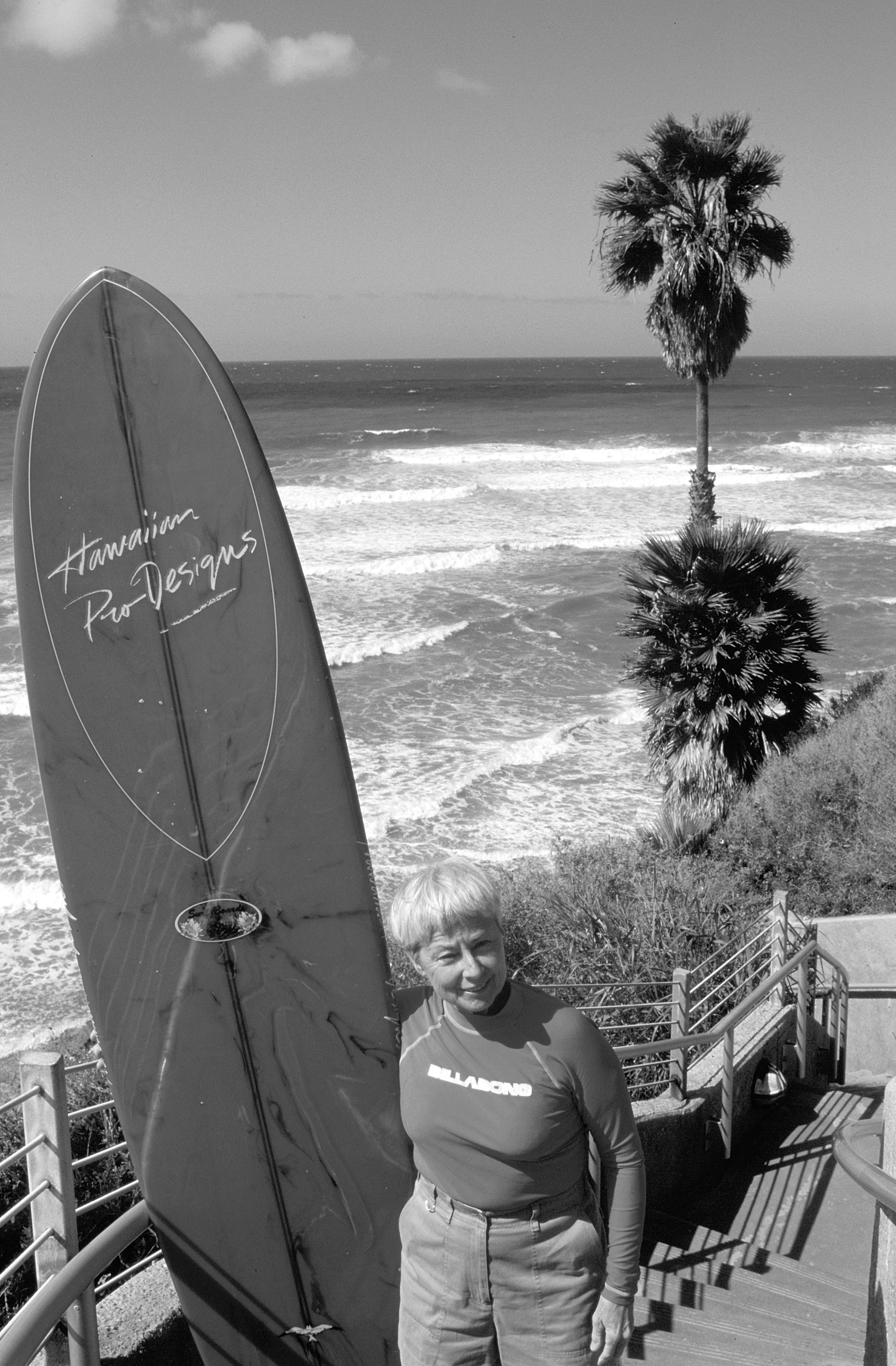 Women Evolution Surfing Surf Surfer Summer Beach Board Wave Ocean FITTED T-SHIRT