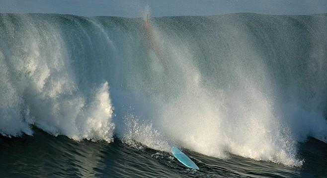 La Jolla storm waves - Image by Bengt Nyman/Flickr
