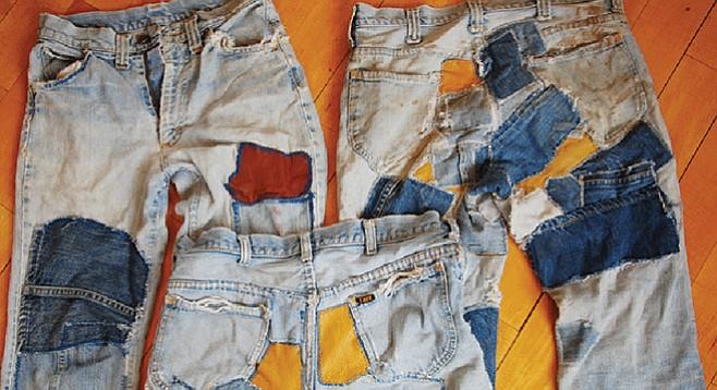 Frankenstein jeans