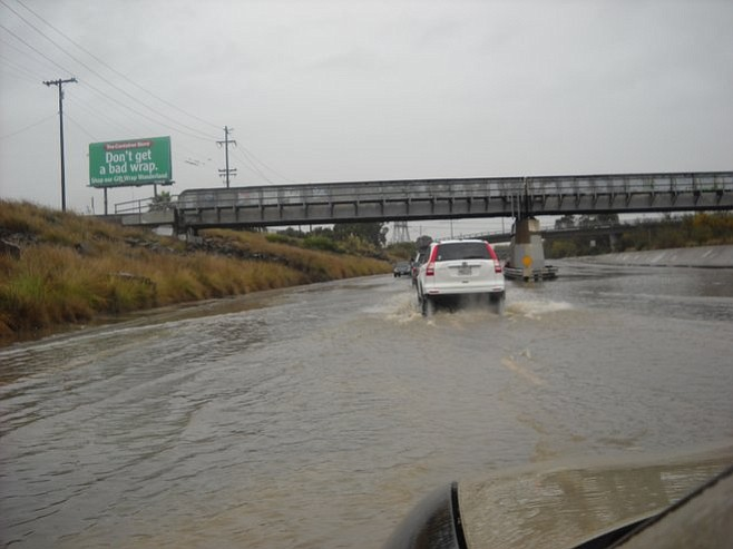 Flooding on Friars Road