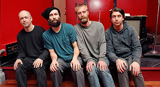 Indie-rock royalty Built to Spill pour their guitar-band brand all over Casbah on Sunday and Monday nights!