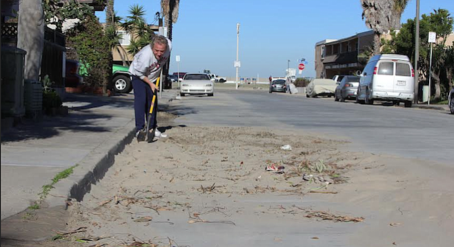 John Hogan cleans up on Longbranch Avenue