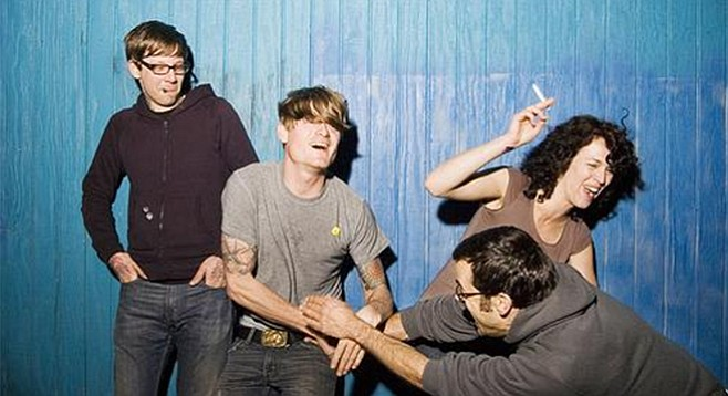 SanFran psych band Thee Oh Sees take the stage at Belly Up Friday night!