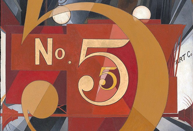 Charles Demuth's I Saw the Figure 5 in Gold