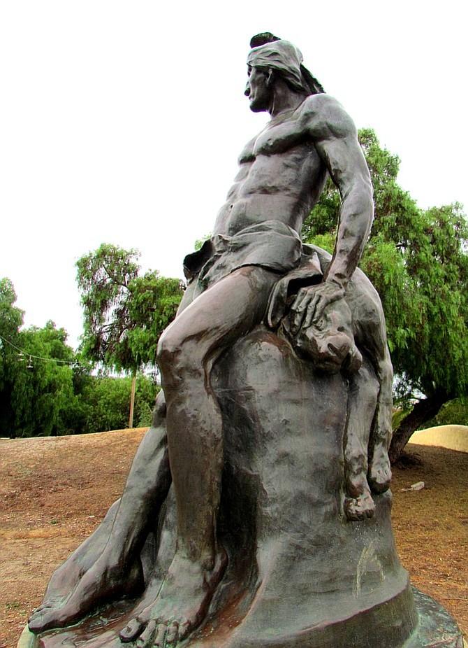 The Indian at Presidio Park.