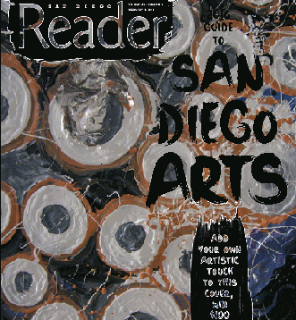 Arts cover contest entries | San Diego Reader