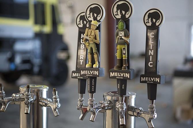 Wyoming's Melvin Brewing debuted in California with a synchronized nine-state release of its award-winning brews. - Image by Greg Von Doersten