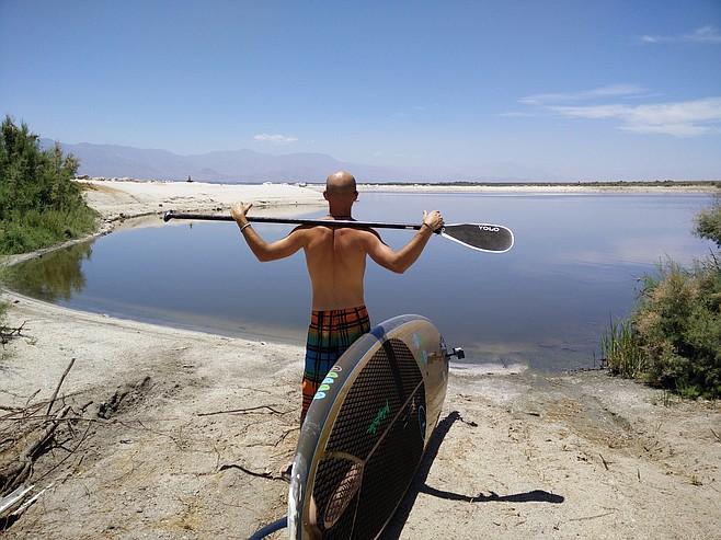 Surveying the scene at the Salton Sea