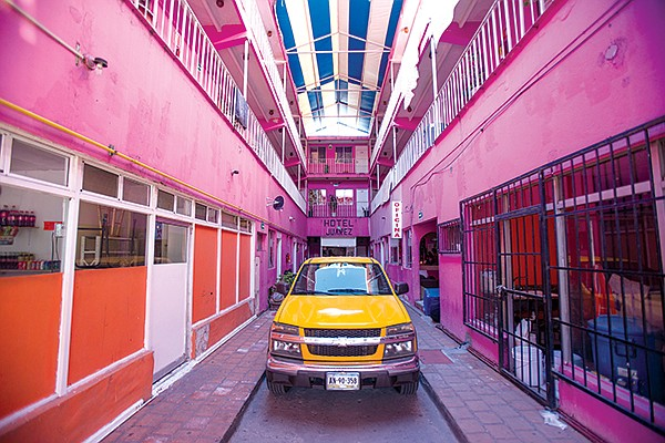 Hotel Juarez, like most in the area, is frequented by sex workers.