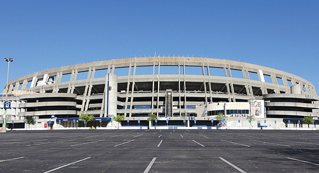 Qualcomm Stadium - Image by wellesenterprises/istock/thinkstock
