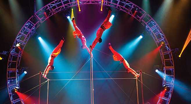 Thursday, February 11: Circus Vargas: Iluminous