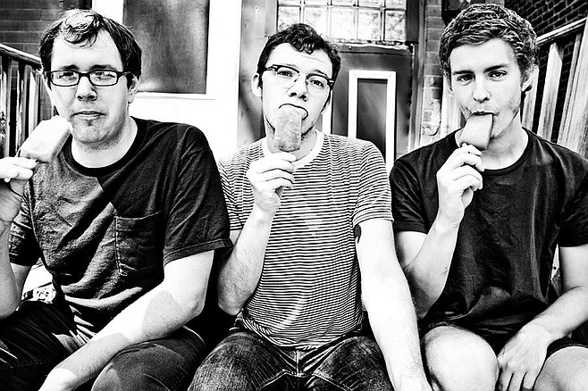 Chicago-based post-punk trio Meat Wave crashes on the Soda Bar stage on Saturday!