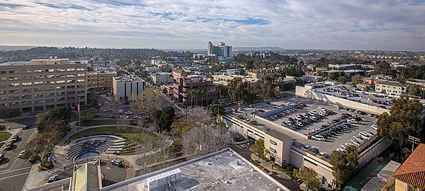 Building heights in Hillcrest are capped at 50 to 65 feet — for now.