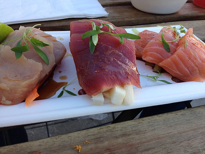 """Mexican Sashimi"" — not quite what sushi chefs do"