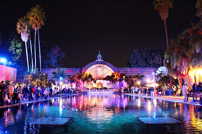 Christmas Nights at Balboa Park
