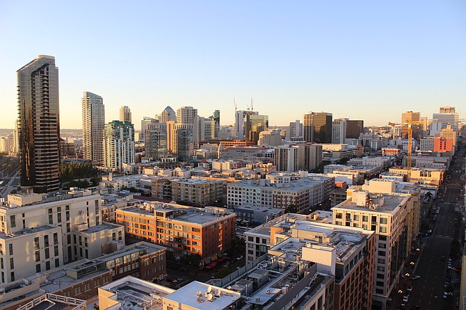 Downtown San Diego, Castles of the new Era.