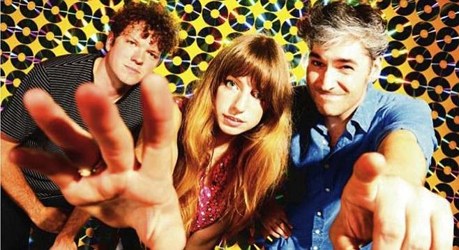 Ringo Deathstarr explodes with warm and fuzzy tones at Soda Bar Monday night.