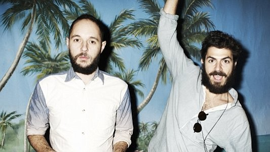 Nu-disco duo Bag Raiders bring the dance jams to Observatory North Park on Friday.