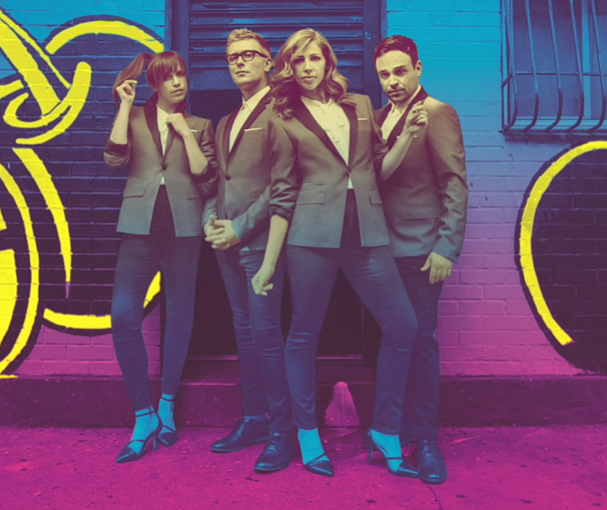 Boston's soul-pop four-piece Lake Street Dive plays the Observatory on Wednesday.