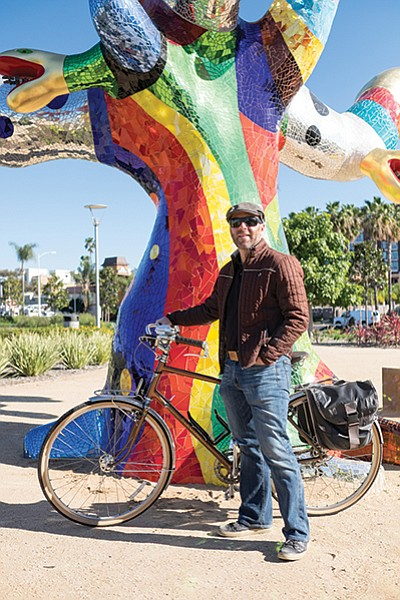 Andy Hanshaw is the executive director of the San Diego Bike Coalition.