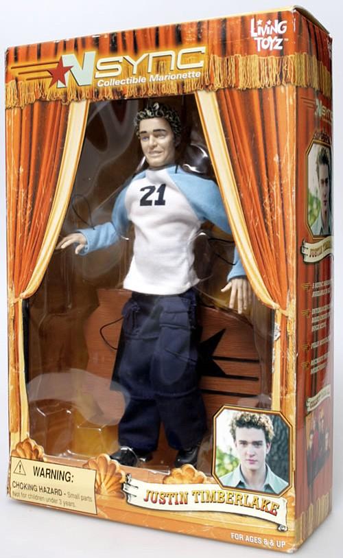 Justin Timberlake marionette