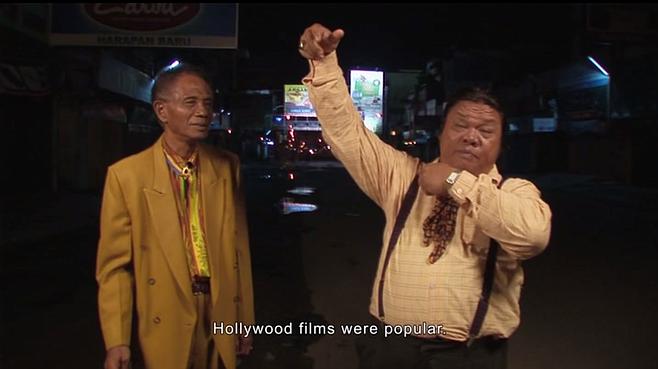 Anwar Congo and Herman Koto