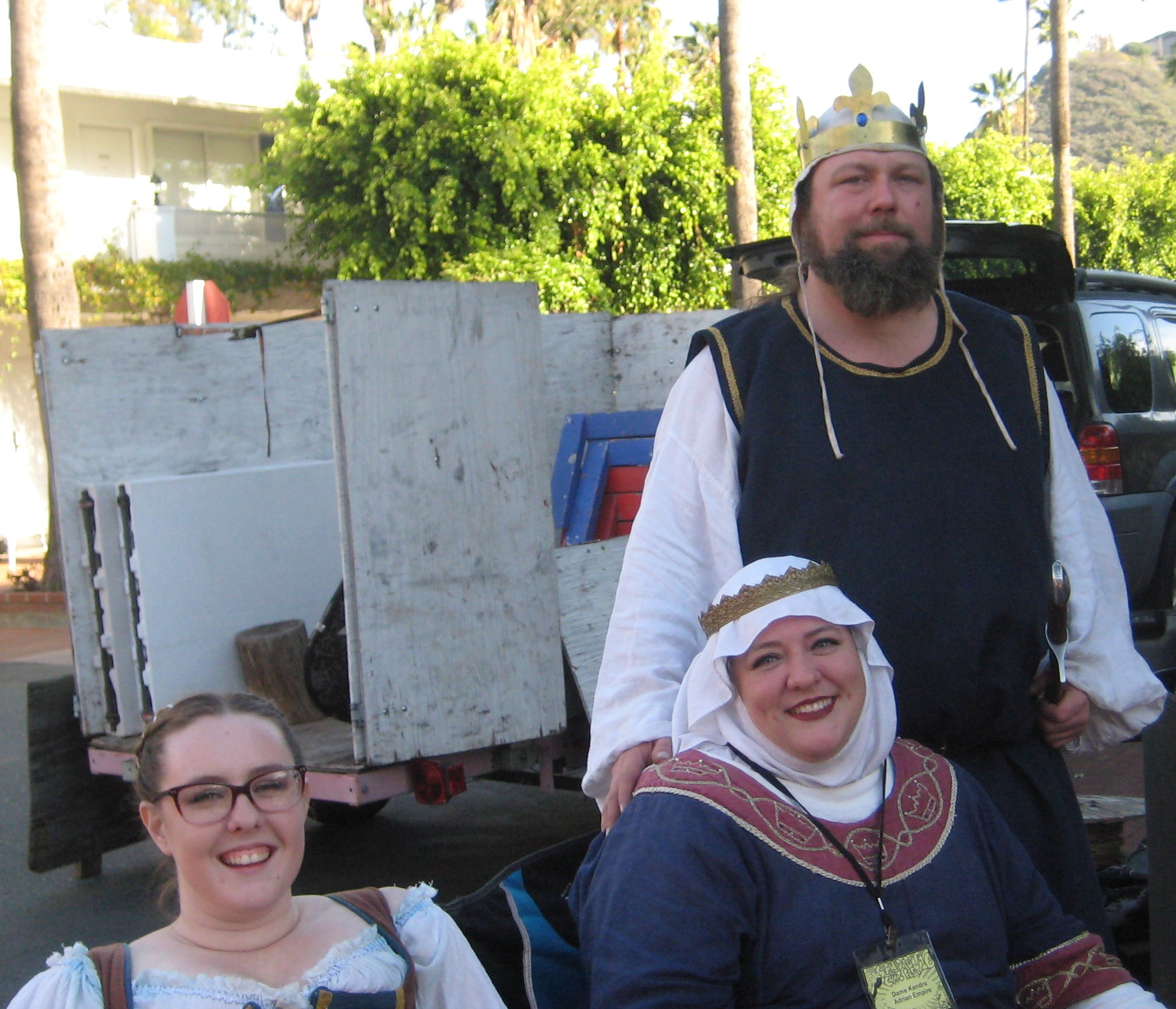cosplayers of Kingdom of Terre Neuve