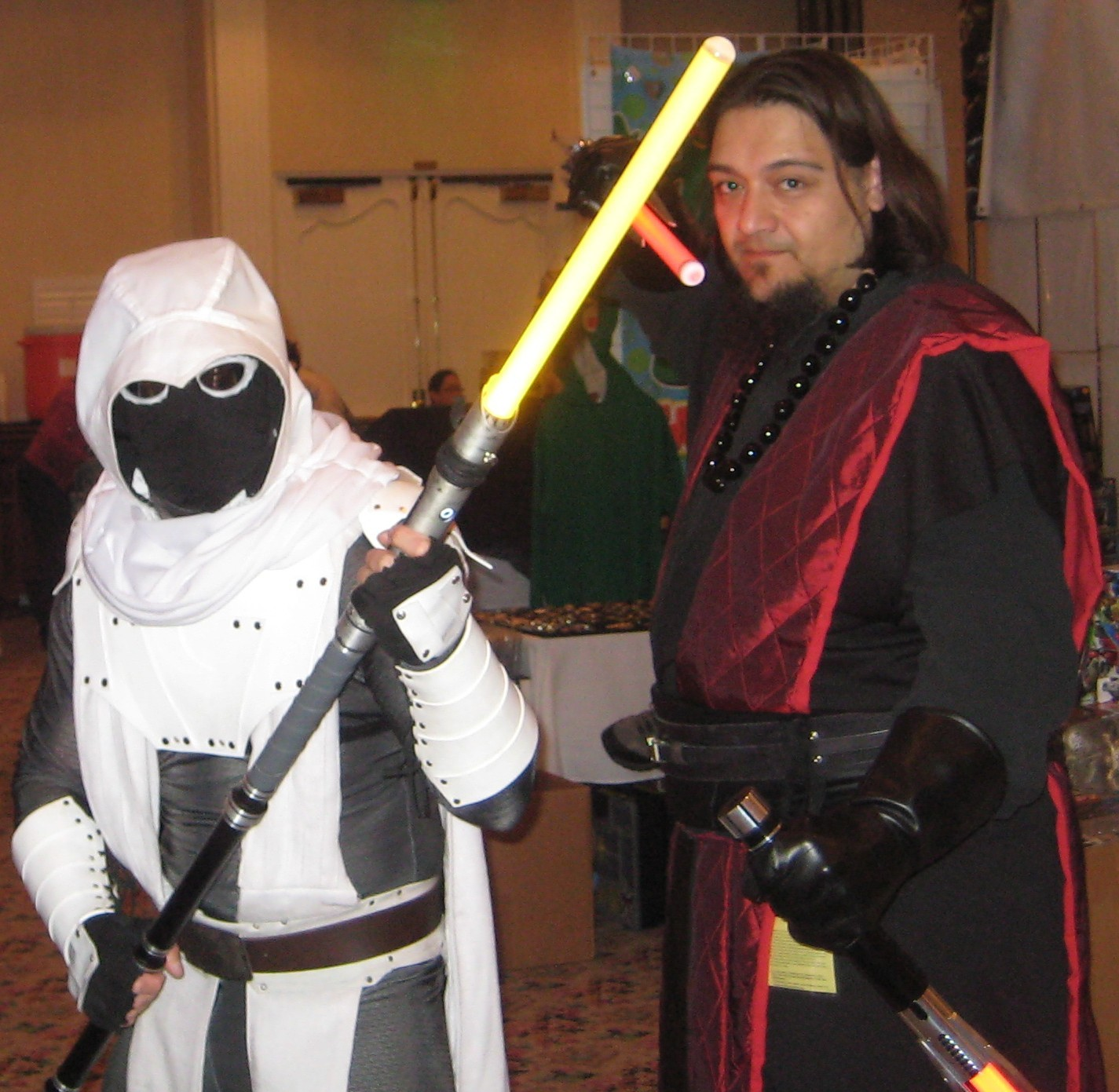 MoonKnight from Marvel Comics becomes a Jedi and a StarWars cosplayer