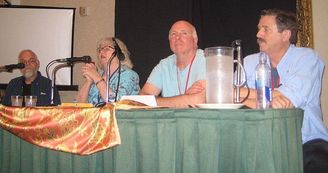 Dennis Smith, Jackie Estrada, Mike Towry and David Clark on San Diego Fandom in the 1960s panel