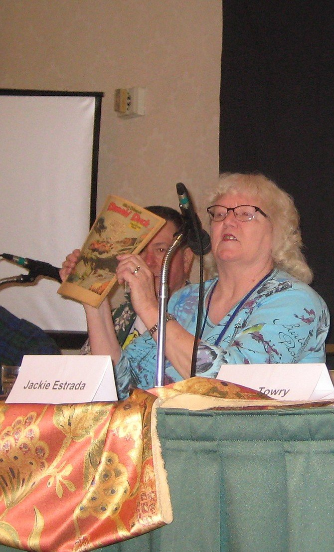 Scott Shaw and Jackie Estrada on San Diego Fandom in the 1960s panel