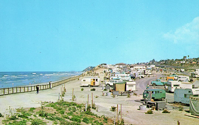 San Elijo Campgrounds In 1965