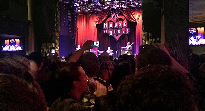 Dick Cheese performance at House of Blues