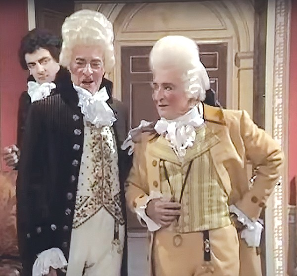 """Don't say """"Macbeth"""" to these two from Blackadder"""