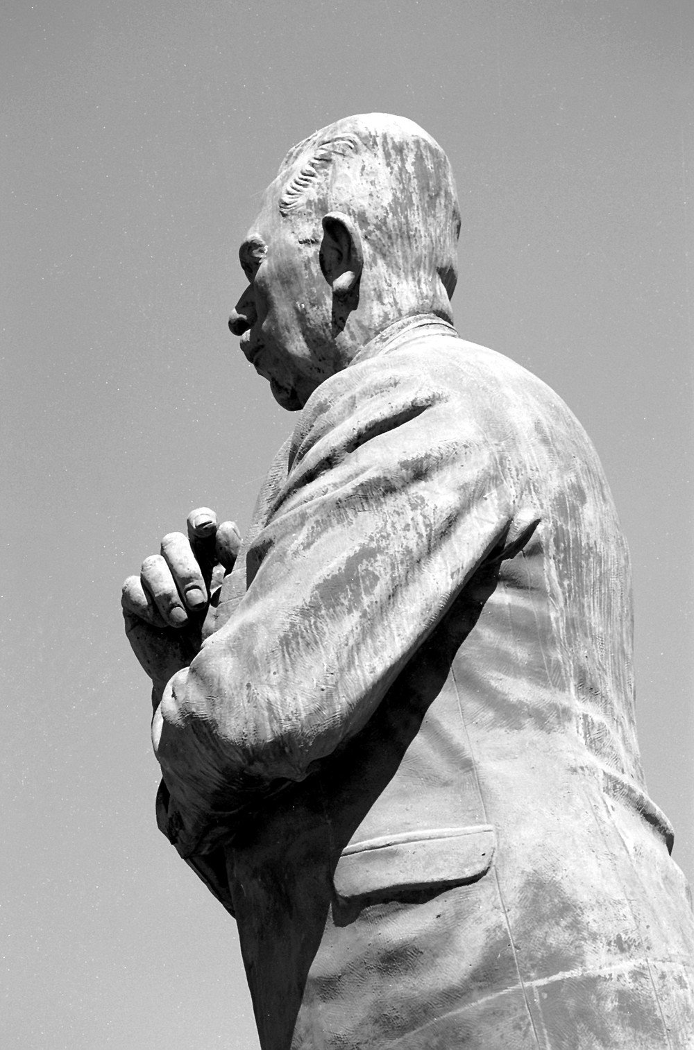 "Lazaro Cárdenas was the president who, in 1935, expropriated Agua Caliente casino. ""I saw Cárdenas once in Mexico City, and the statue looks just like him."""