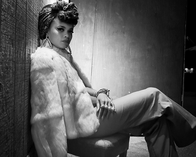 Retro-soul vocalist and former San Diegan Andra Day comes home to play the Observatory on Tuesday.