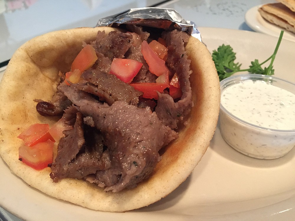 Simple but flavorful gyro