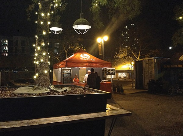 The little tent that could. O My! TACO delivers ancient tacos to East Village