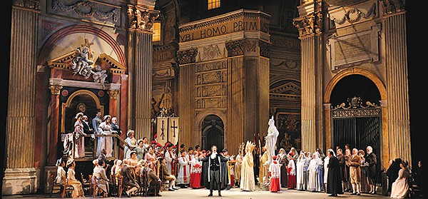 A scene from Tosca