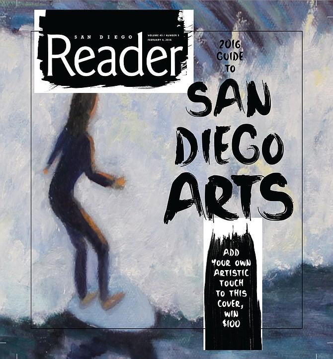 Surf's Up San Diego Original Oil Painting  Barbara Schild