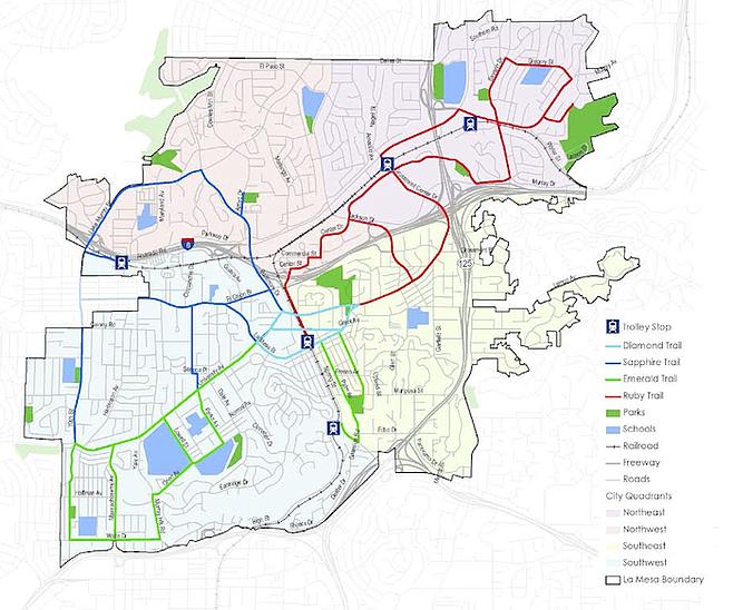 La Mesa Map 18 9 Doctoro Co