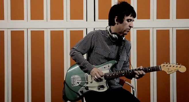 Ex-Smiths guitarist Johnny Marr brings Playland to Belly Up on Sunday.
