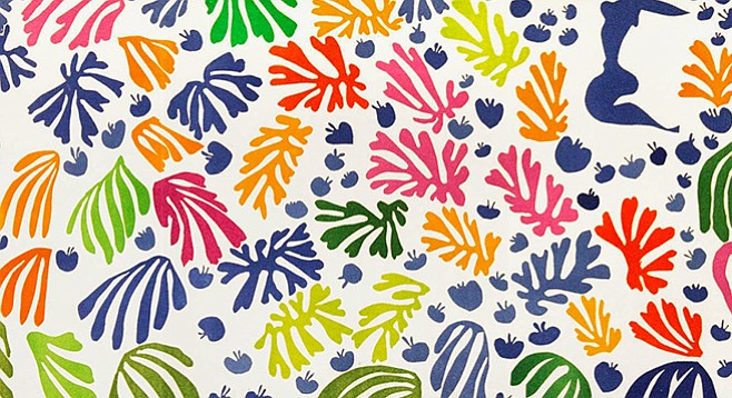 """""""I adore [Matisse's cutouts] for their simplicity, flatness, and childlike innocence."""""""
