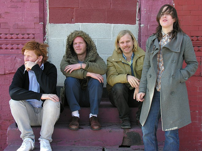 Indie-rock experimentalists Lower Dens play Casbah on Saturday.