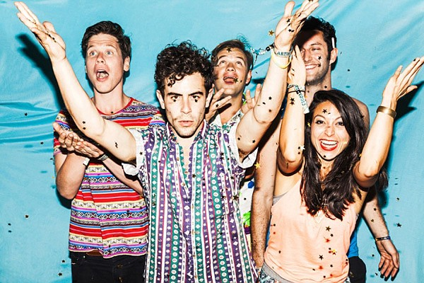 Synth-pop from South Africa: St. Lucia takes the stage at the Observatory on Tuesday.
