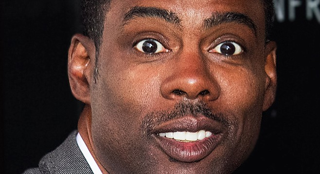 Did Chris rock?