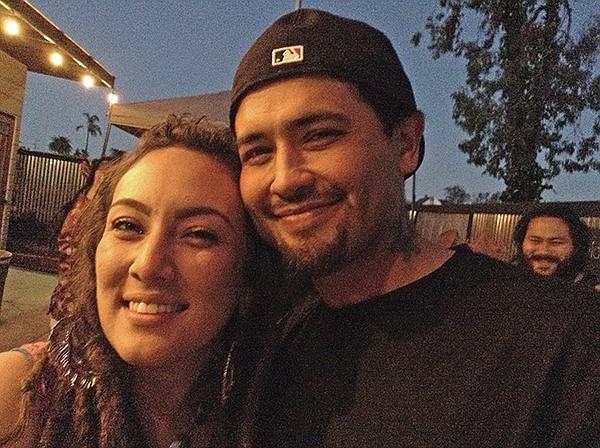 Ashley and César