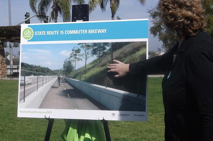 Rendering of future bikeway