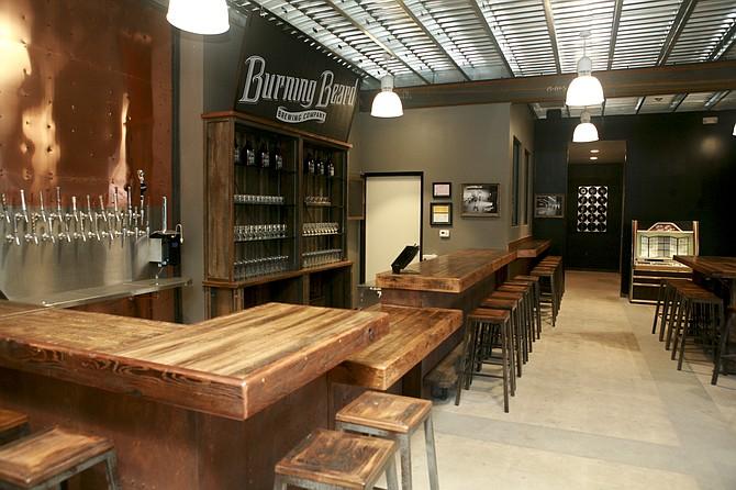 The rocker- and family-friendly tasting room of El Cajon's Burning Beard Brewing Company