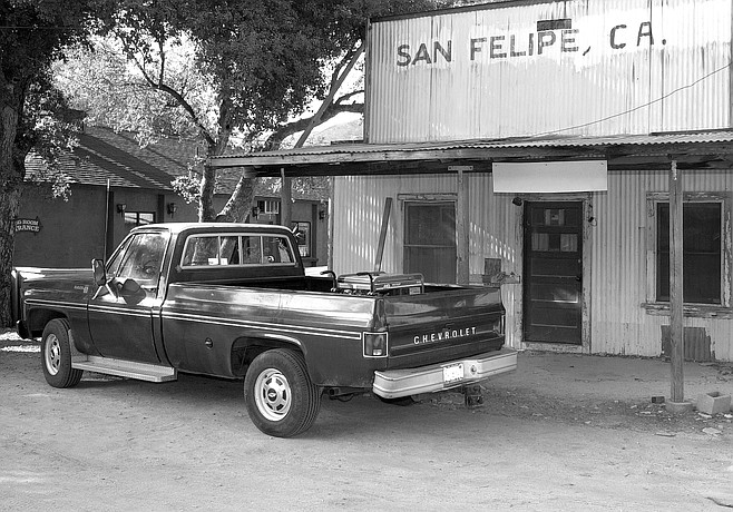 Closed San Felipe general store